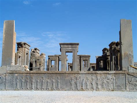 The Audience Hall Persepolis of Darius Iran