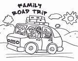 Trip Coloring Road Clip Clipart Pages Colouring Vacation Drawing Activities Trips Printables Google Roadtrip Summer Printable Traveling Travel Winding Sketch sketch template