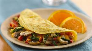 Veggie Stuffed Omelet recipe from Betty Crocker