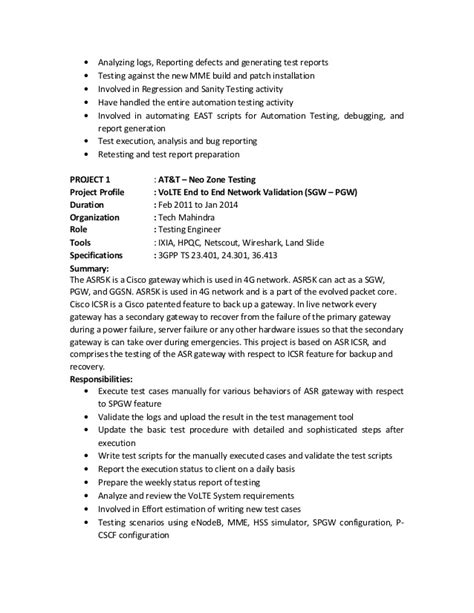 R Resume by Mohan R Resume
