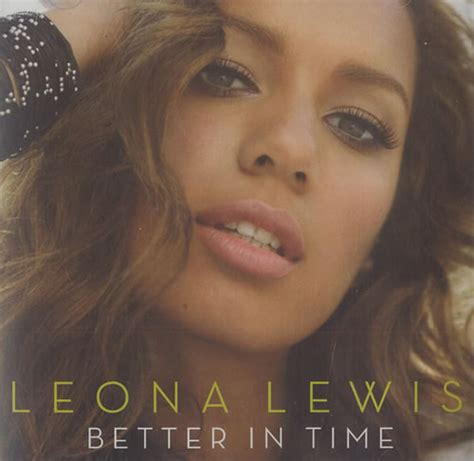 Leona Lewis Better In Time Us Promo Cd Single (cd5 5
