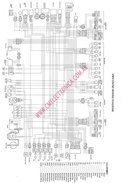 Vmax Wiring Diagram by Diagrama Yamaha V Max
