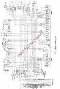 Yamaha Analog Tachometer Wiring Diagram  U2013 The Wiring