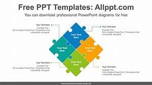 Puzzle Matrix Powerpoint Diagram Template