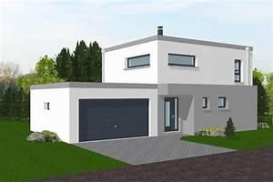Maison Moderne Toit Plat : villa toit plat vg83 jornalagora ~ Nature-et-papiers.com Idées de Décoration