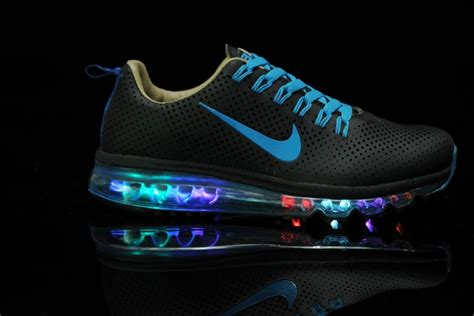 nikes that light up mens nike air max motion nsw light up black blue cheap