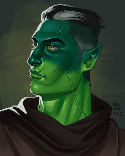 Fjord Yuan Ti by Ben Masi A Destiny Forged Zine On Critical Role Fanart