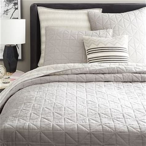 What Is A Coverlet by Organic Washed Cotton Duvet Cover Shams Platinum