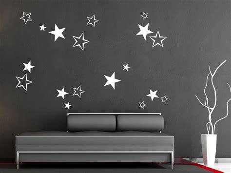 Wandtattoo Kinderzimmer Sterne by Wandtattoo Sterne Set Als Sternendeko Wandtattoos De