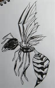 Wasp Tattoo Designs