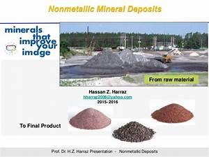 Non-metallic Mineral Deposits