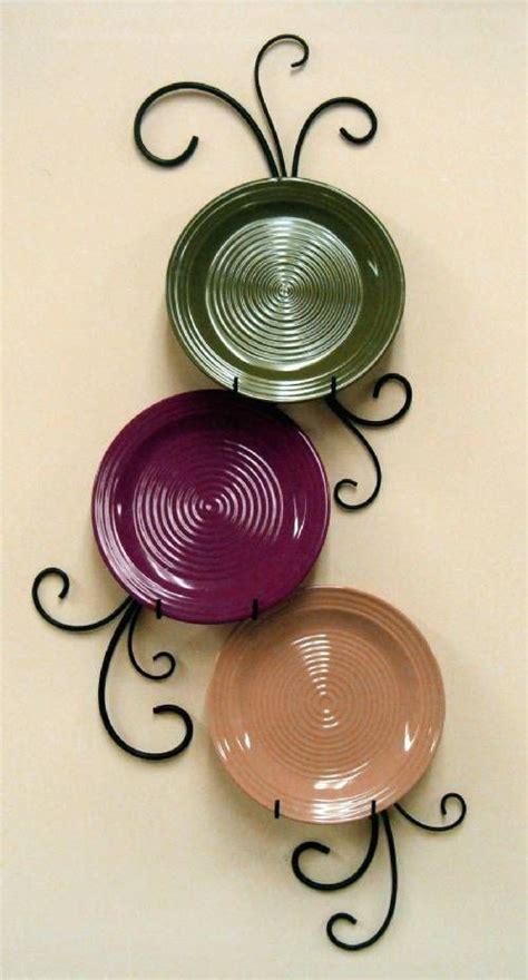 wrought iron plate hanger vertical    plates plate racks  hangers plates