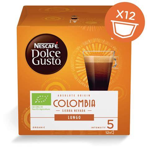 Lungo COLOMBIA organiska kafija 12 kapsulas - NESCAFÉ ...