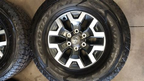 Toyota Tacoma Trd Off-road Wheels + Tires