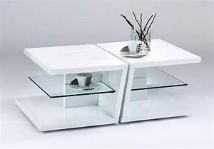 Weiß Hochglanz Couchtisch : twin couchtisch 60 x 45 weiss hochglanz lack und glas ~ A.2002-acura-tl-radio.info Haus und Dekorationen