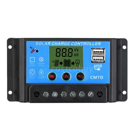 Auto Switch Solar Panel Battery Regulator
