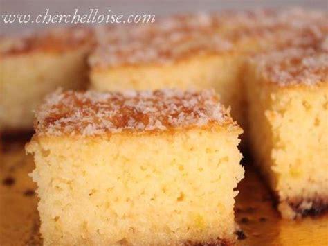 recette dessert semoule de ble les meilleures recettes de g 226 teau de semoule
