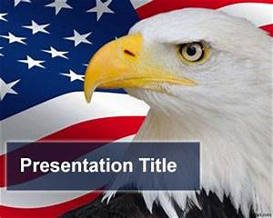 American Flag Ppt Background Usa Powerpoint Templates