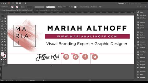 How To Design A Custom Email Signature In Gmail  Youtube