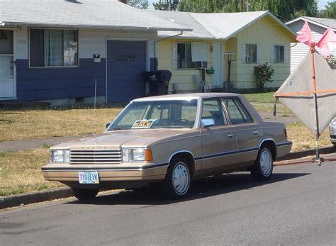 auto repair manual free download 1981 dodge aries security system dodge aries 1981 1989 sedan outstanding cars