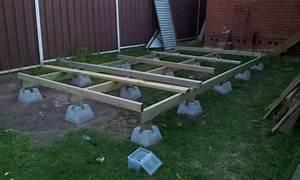 Shed Foundation Using Cinder Blocks