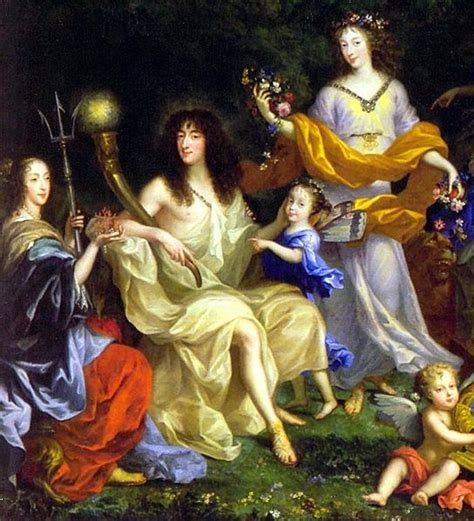 jean nocret family louis xiv file queen henriette marie with her daughter
