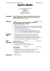 Musician Resume Template Parts Of A Resume Best Template Collection