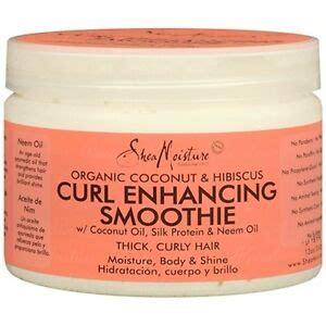 shea moisture organic curl enhancing smoothie coconut