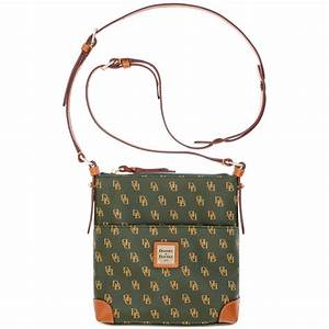 dooney bourke gretta signature letter carrier crossbody With leather letter carrier bags