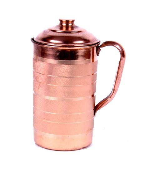 rastogi handicrafts  jug copper pitchers  ml buy    price  india snapdeal