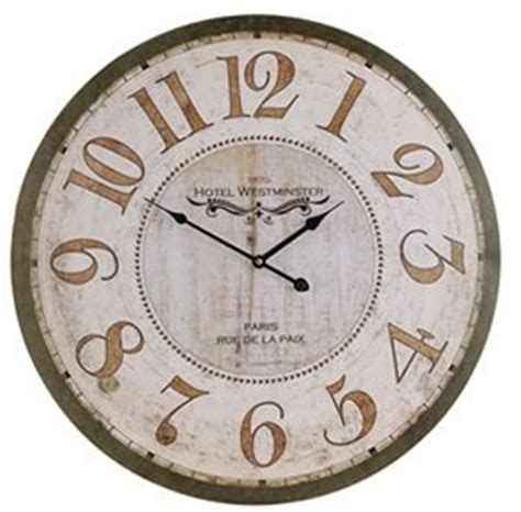 chaise cagne chic horloge chic 60 cm 107740 28 images horloge d 60 cm