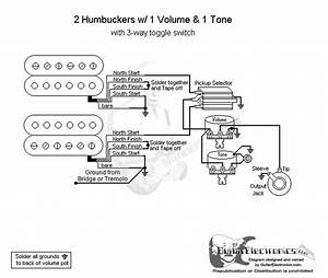 Guitar Wiring Diagrams 1 Pickup 1 Volume 1 Tone