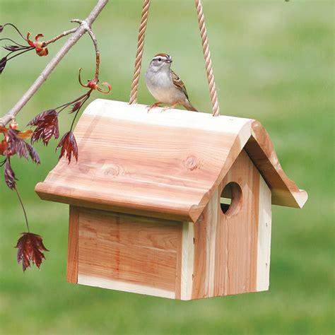 duncraftcom hanging wren bird house