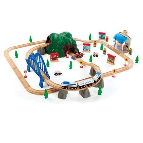 oxybul cuisine en bois circuit de en bois 86 pièces oxybul pour enfant de 3