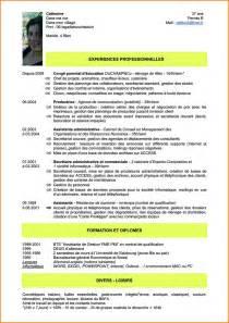 Cv Auxiliaire De Vie Scolaire by 9 Cv Auxiliaire De Vie Scolaire Format Lettre