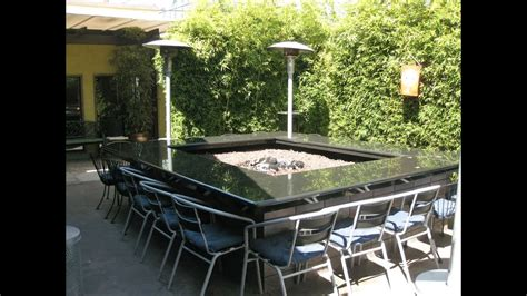 Fire Pit Table Youtube