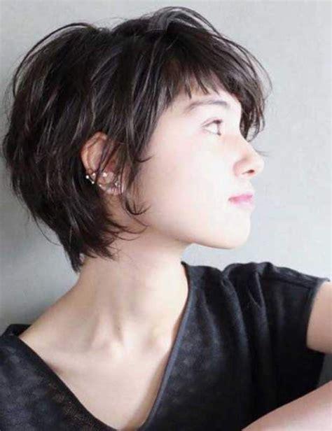 coupe courte cheveux frisã s les 25 meilleures idées de la catégorie cheveux brune dégradé sur brune ombre et