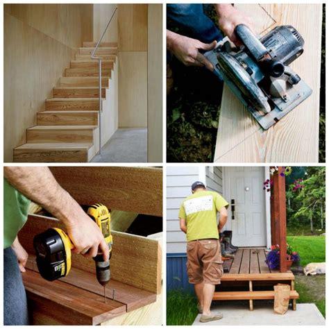 faire un escalier fabriquer un escalier en bois int 233 rieur ou ext 233 rieur fiche infos pratiques