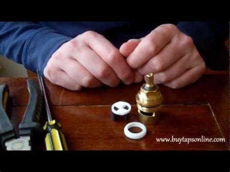 how to stop a faucet in kitchen buytapsonline com 1 4 turn ceramic disc cartridge tap