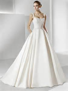 satin wedding dresses wedding dresses classic