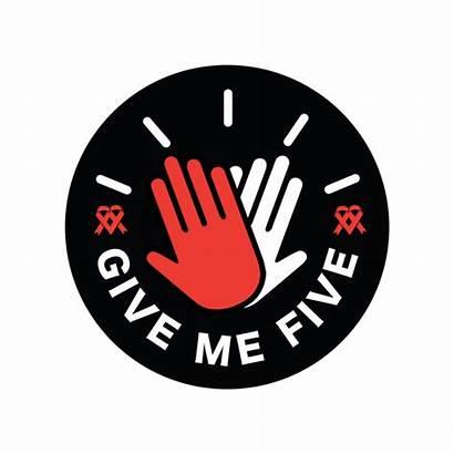 Give Five Campaign Yam Aids Foundation Givemefive