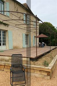 Pergola Fer Forge Provencale : best 25 iron pergola ideas on pinterest timber pergola rustic pergola and roof beam ~ Melissatoandfro.com Idées de Décoration