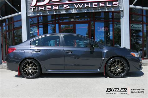 subaru wrx   tsw nurburgring wheels exclusively