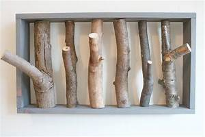 DIY Branch Coat Rack – Kept Blog