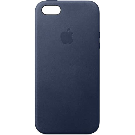 cases for iphone 5s apple iphone 5 5s se leather midnight blue mmhg2zm
