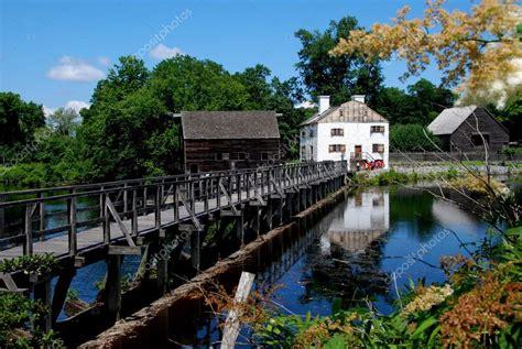 Mill Pond Bridge At Philipsburg Manor