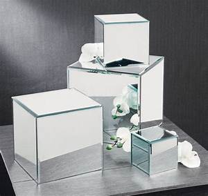Small Business Inventory Forms Square Glass Mirror Risers Tripar International Inc