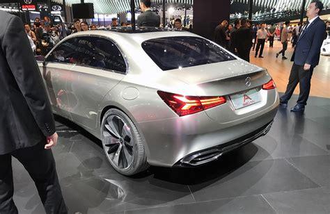 Scopri i modelli, le nostre offerte, le caratteristiche e i prezzi. 2018 Mercedes-Benz A-Class sedan concept revealed - photos   CarAdvice