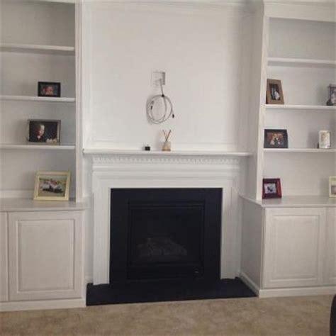 mki custom trimwork  painting fireplace mantels
