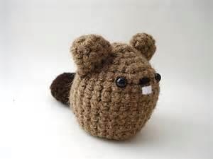 Beaver Crochet Pattern Amigurumi